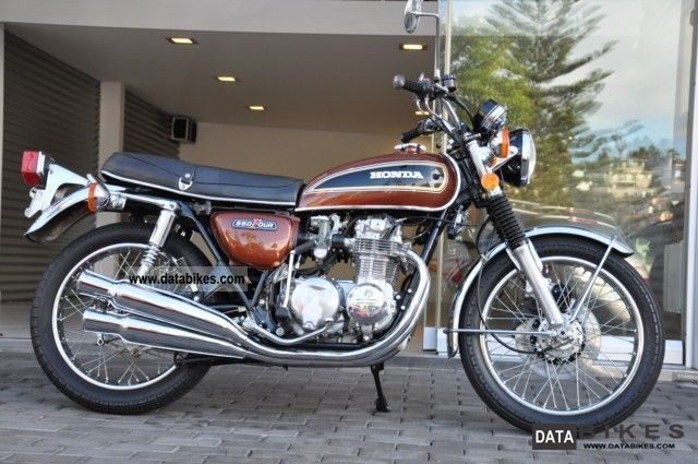 Honda  550 Four unrestored originals with 7300 miles! 1976 Vintage, Classic and Old Bikes photo
