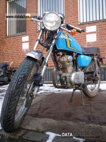 1977 Honda  CB 125S Motorcycle Motorcycle photo