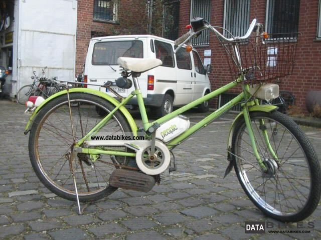 1980 honda people rarity from japan with motor bike for Little motors for bicycles