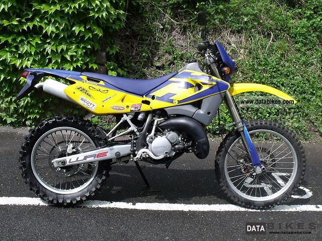 2004 Husqvarna  WRE 125 Motorcycle Enduro/Touring Enduro photo