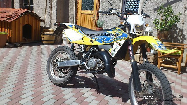 Husqvarna  WR 125 marzocchi, Öhlins, Excel and so much more accessories 2003 Enduro/Touring Enduro photo