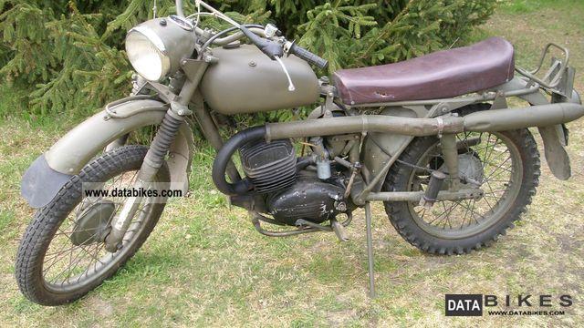 1968 Husqvarna  Military Motorcycle Motorcycle photo