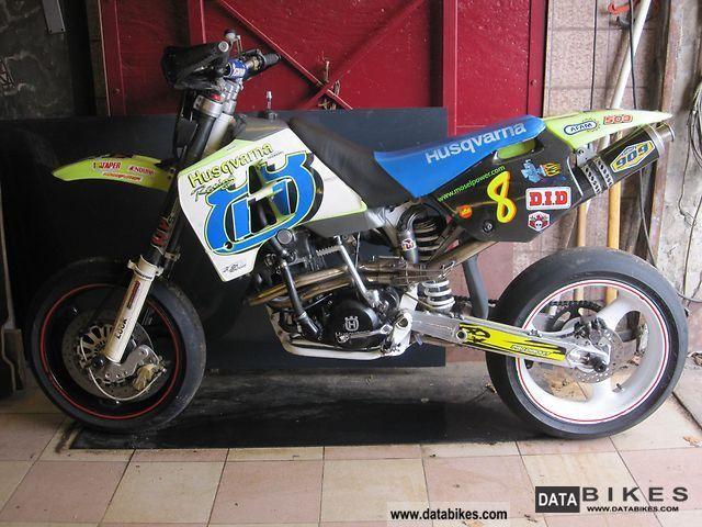 1995 Husqvarna  TE Motorcycle Racing photo