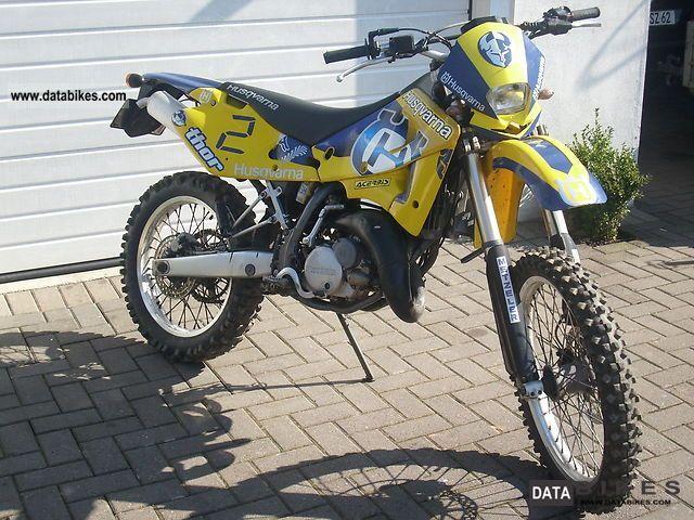2001 Husqvarna  wre 125 Motorcycle Rally/Cross photo