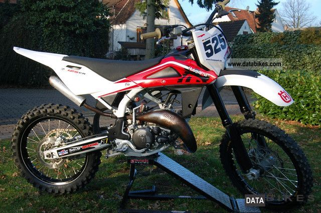 2010 Husqvarna  CR 125 Special Edition Motorcycle Dirt Bike photo