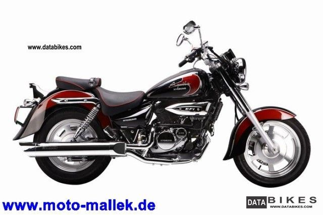 2011 Hyosung  Aquila GV 125 Classic Motorcycle Chopper/Cruiser photo