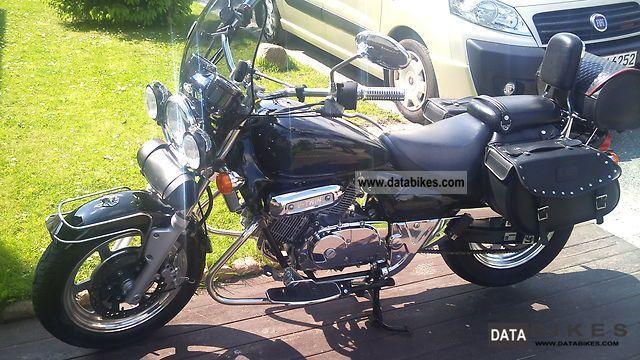 2003 Hyosung  Aquila 125cc Motorcycle Chopper/Cruiser photo
