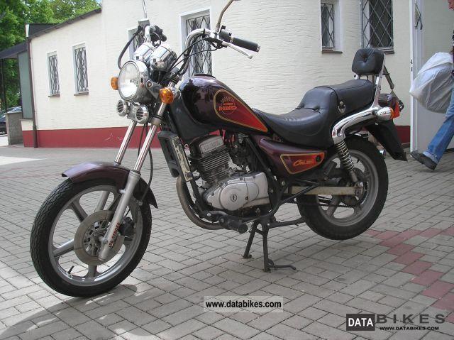 2000 Hyosung GA 125