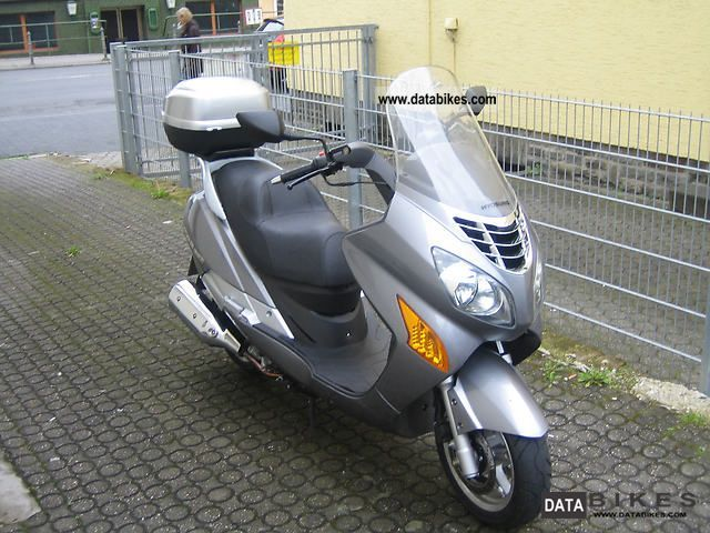 2009 Hyosung  MS3i 250 Motorcycle Scooter photo