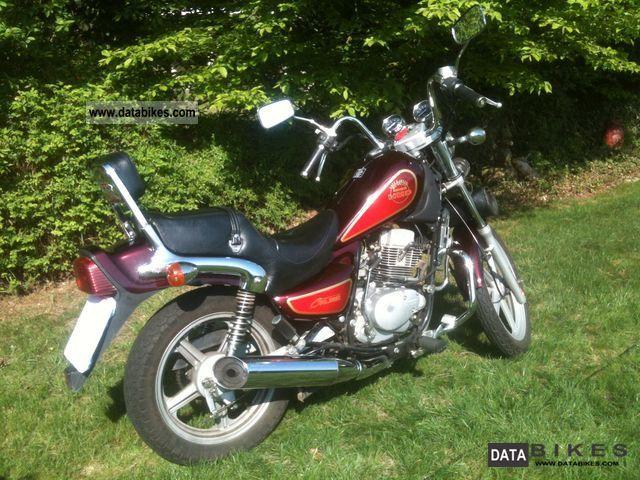 1996 hyosung ga 125 cruise ii motorcycle chopper cruiser photo 3