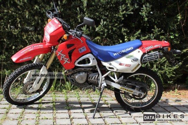 2003 Hyosung  RX Motorcycle Lightweight Motorcycle/Motorbike photo