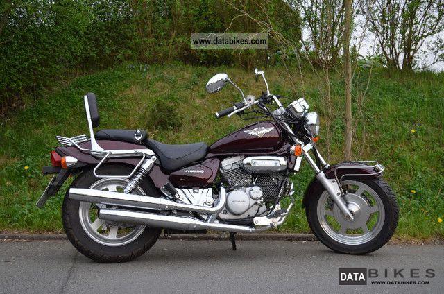 2002 Hyosung  Aquila Motorcycle Chopper/Cruiser photo