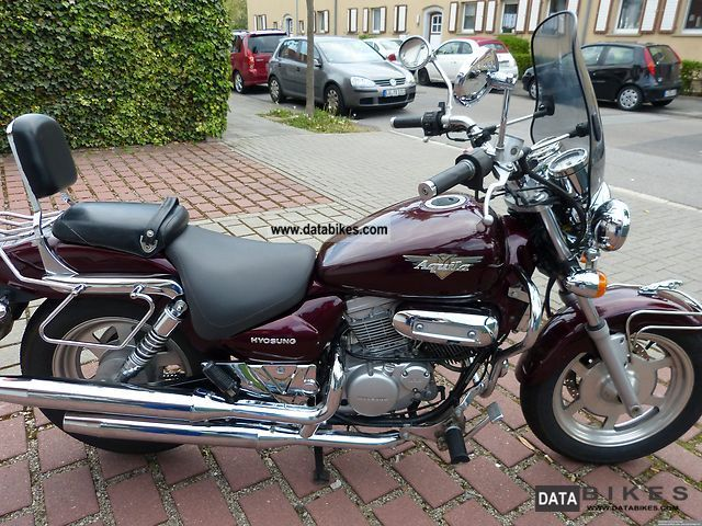 2000 Hyosung  Aquila Motorcycle Chopper/Cruiser photo