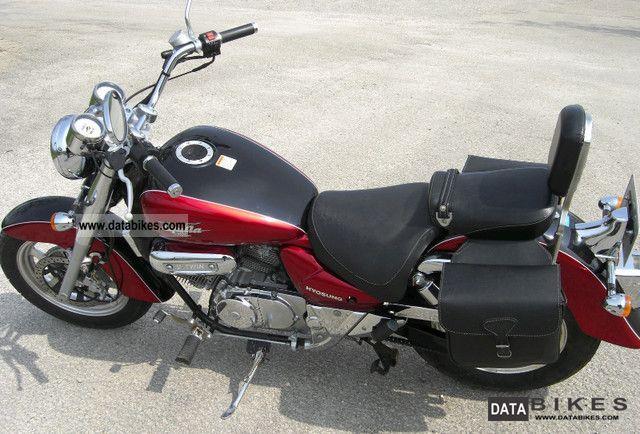 2005 Hyosung  Aquila Motorcycle Chopper/Cruiser photo