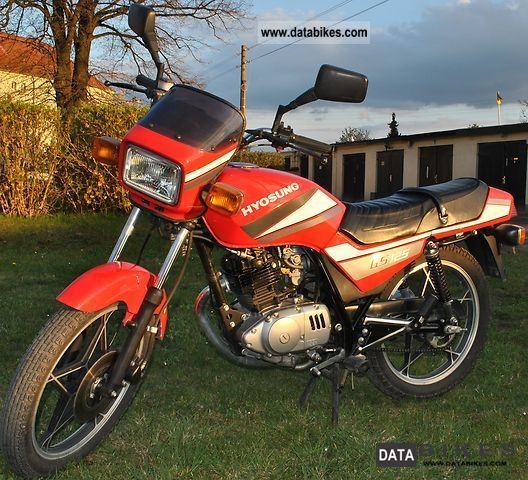 Hyosung  GS 125 1999 Tourer photo