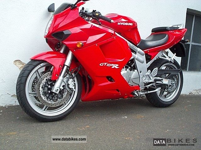 2005 Hyosung  GT650R Motorcycle Motorcycle photo