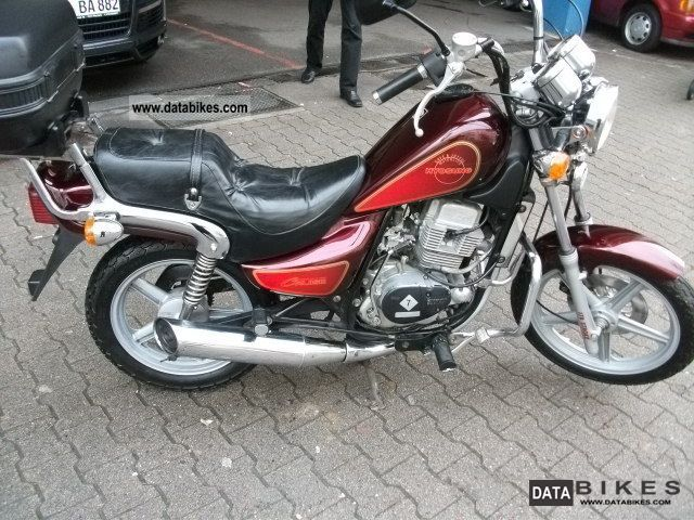 2001 Hyosung  GA 125 1.HAND Motorcycle Chopper/Cruiser photo