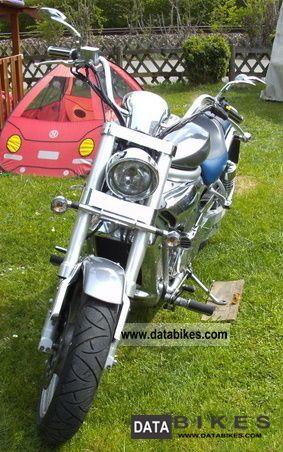 2007 Hyosung  GV 650 Motorcycle Chopper/Cruiser photo