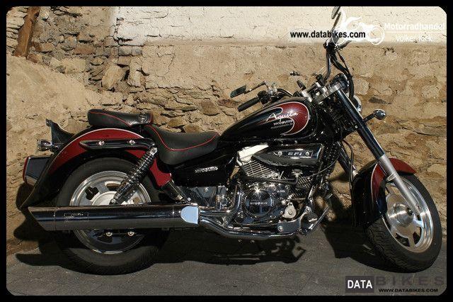 2009 Hyosung  GV 250 Aquila Motorcycle Chopper/Cruiser photo