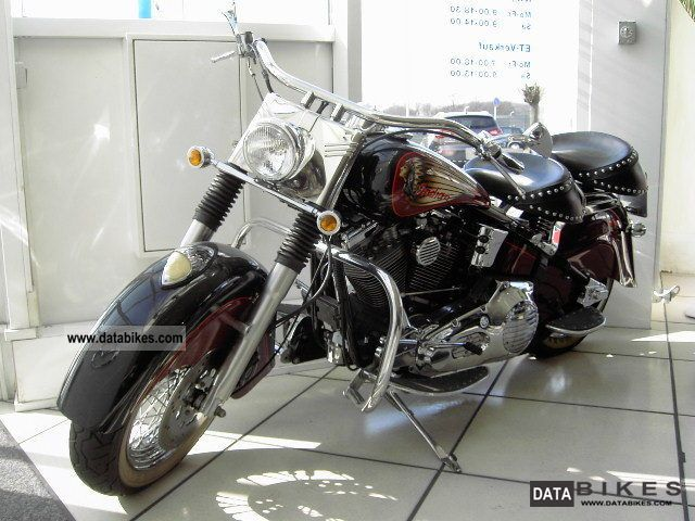 2001 Indian  Big Foot Motorcycle Chopper/Cruiser photo