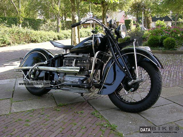 Indian  Four 1940 Vintage, Classic and Old Bikes photo
