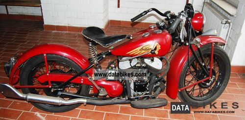 Indian  741 1943 Vintage, Classic and Old Bikes photo