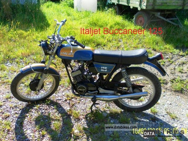 Italjet  Buccaneer 125 1976 Vintage, Classic and Old Bikes photo