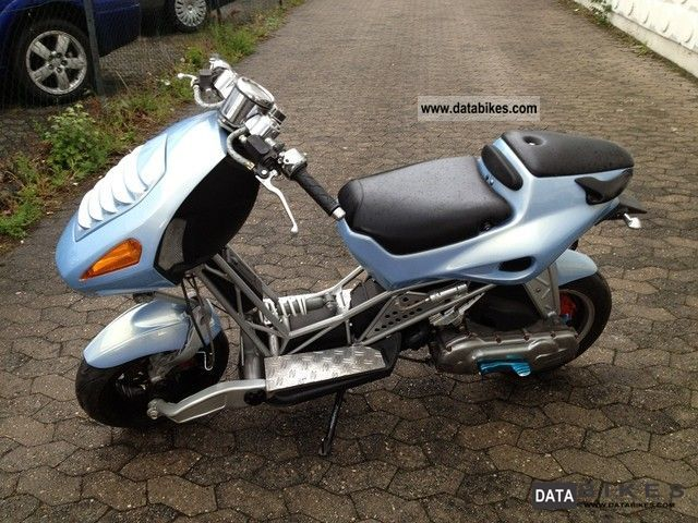 1998 Italjet  Dragster 50 Motorcycle Scooter photo
