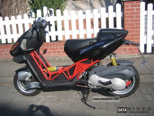 2002 Italjet  Dragster 180 Motorcycle Scooter photo