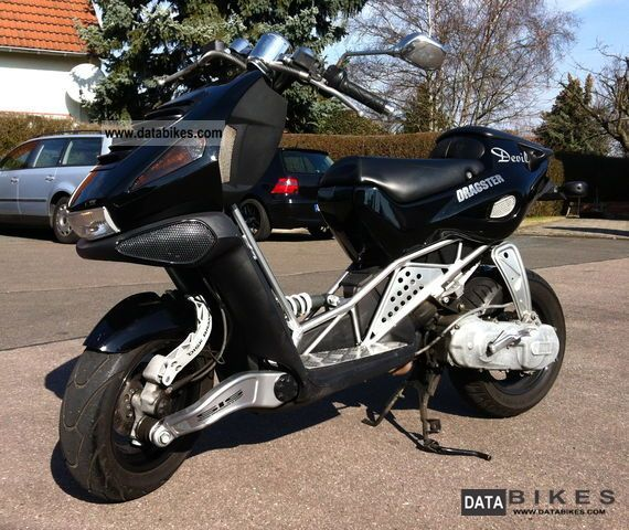 2002 Italjet  Dragster 50 Motorcycle Scooter photo