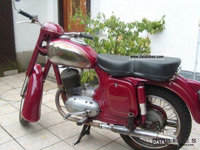 1957 Jawa  175/356 Motorcycle Motorcycle photo
