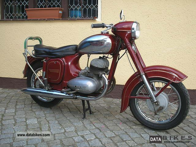 Jawa  350 1960 Vintage, Classic and Old Bikes photo