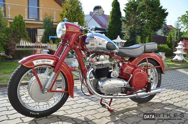Jawa  500 OHC / 02 1955 Vintage, Classic and Old Bikes photo