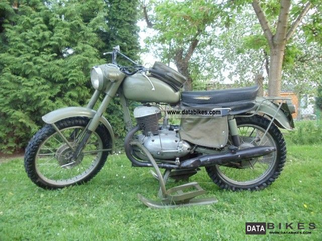 Jawa  250/579-257A military 1971 Vintage, Classic and Old Bikes photo