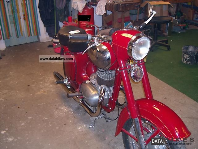 Jawa  353 1959 Vintage, Classic and Old Bikes photo