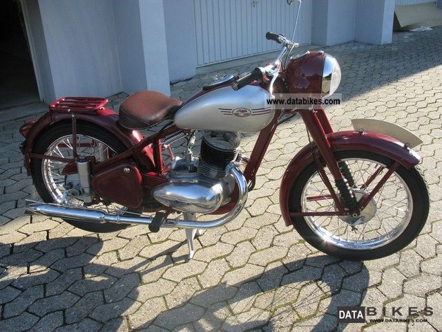 Jawa  Perak 1954 Vintage, Classic and Old Bikes photo