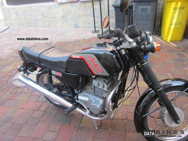 1988 Jawa  TLJ 638 Motorcycle Motorcycle photo