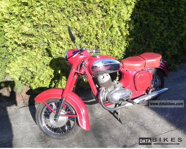 Jawa  250 1960 Vintage, Classic and Old Bikes photo