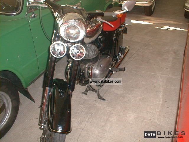 Jawa  350, black, TOP 1963 Vintage, Classic and Old Bikes photo