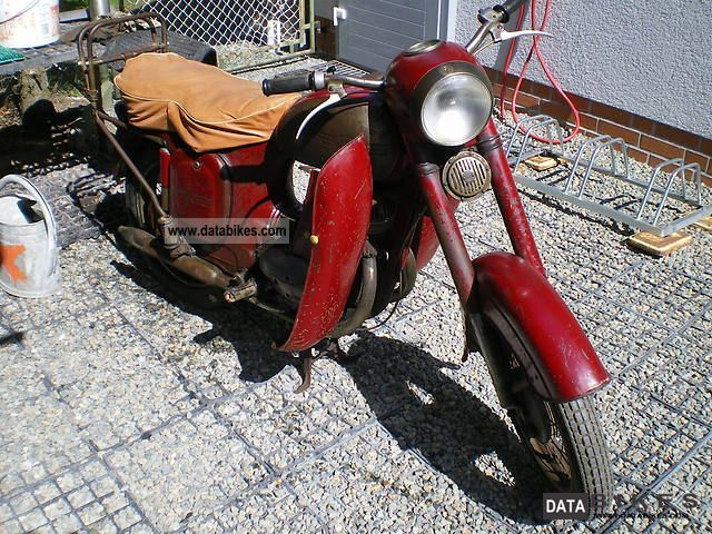 1956 Jawa  175 - barn find - Motorcycle Motorcycle photo