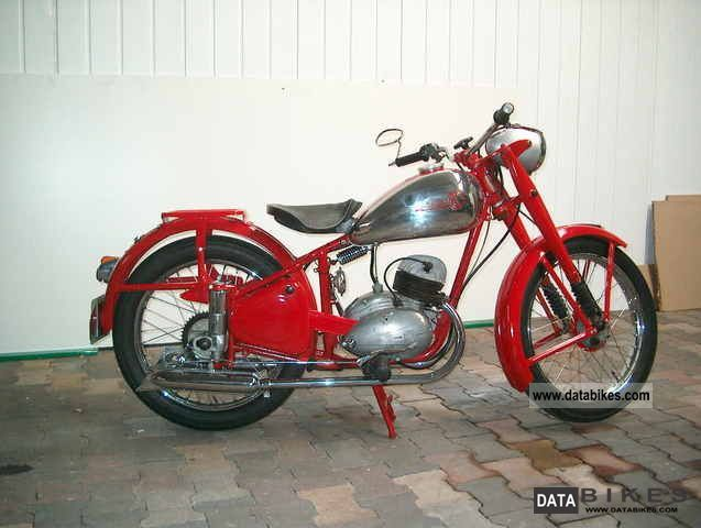 1950 Jawa  CZ Motorcycle Motorcycle photo