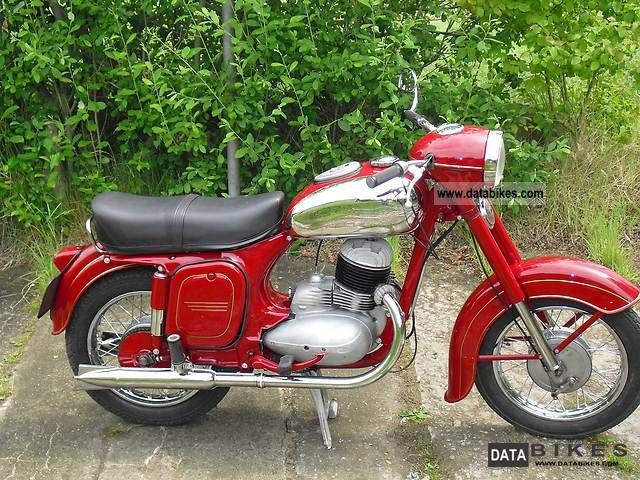 Jawa  250 1959 Vintage, Classic and Old Bikes photo