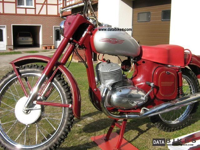 Jawa  GS 554 1959 Vintage, Classic and Old Bikes photo