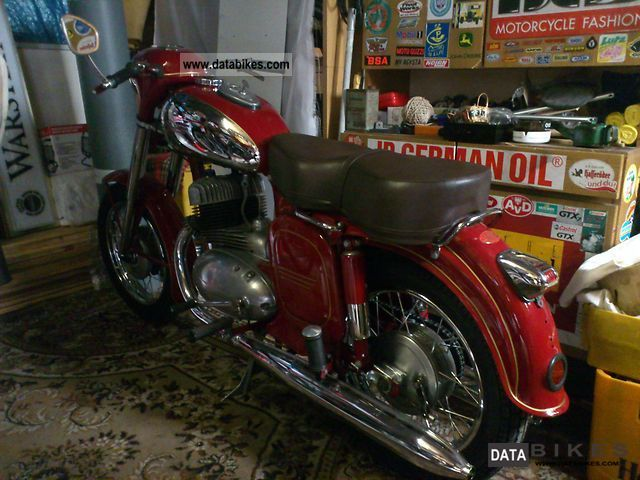 Jawa  354 1961 Vintage, Classic and Old Bikes photo