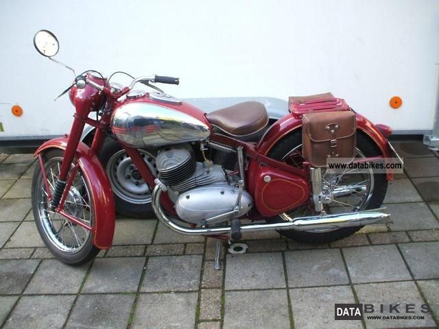 Jawa  Perak type 18 1953 1953 Vintage, Classic and Old Bikes photo