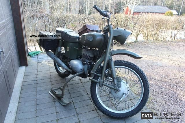 Jawa  Monark 350 military, Type 356A 1962 Vintage, Classic and Old Bikes photo