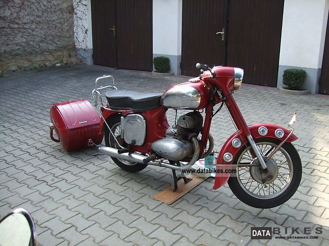 Jawa  350 Typ354 1962 Vintage, Classic and Old Bikes photo