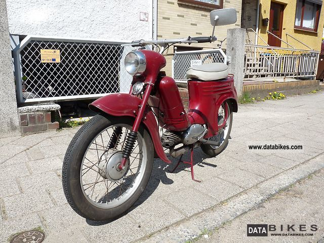 Jawa  555 1961 Vintage, Classic and Old Bikes photo