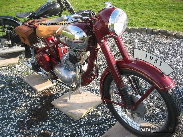 Jawa  Perak 250 1951 Vintage, Classic and Old Bikes photo