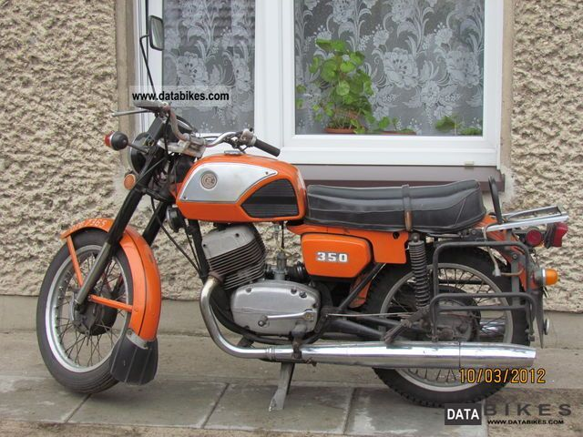 Jawa  CZ 350 1978 Vintage, Classic and Old Bikes photo